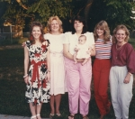 Rhonda Petty Stevens, Jannie Holloway Day, Mary Sanders Wunstel, Lisa Albert Graphia, and Pam Carney Small