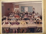 4th Grade Mrs. Wagner/Mrs. Talbot's class  Sherwood Forest Elementary School  1970-71